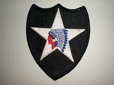 US ARMY 2ND INFANTRY DIVISION PATCH - FULL COLOR