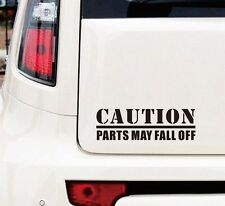 Caution Parts May Fall Off TD5 Defender Land Rover Defender Funny Sticker