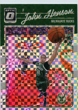 John Henson 2016-17 Panini Donruss Optic Checkerboard Parallel Base Card #9