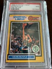 1989 Kenner Starting Lineup One On One Kevin McHale PSA 9