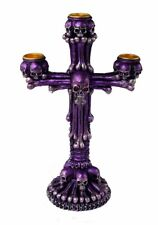 GOTHIC SKULL CANDLE HOLDER - Stunning Design - Free Delivery - Same Day Despatch