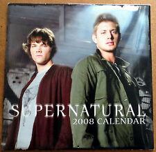 Supernatural Calendar 2008 - Jensen Ackles & Jared Padalecki  Winchester Bros