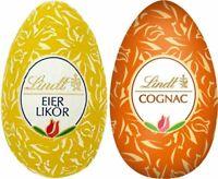 Lindt Eier Cognac / Eierlikör in Zartbitter Schokolade Beutel mit 30 Stück 540gr