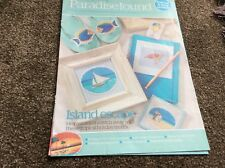 Paradise Found - 40 Tropical Holiday Motifs cross stitch chart Only (233)
