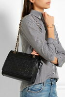 Tory Burch Fleming crossbody bag black leather 85% Almost perfect condition