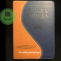 """Biblia Letra Gigante 14 Puntos Antigua Version 1909 Duotono """"Personalizada"""""""