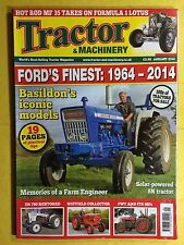 Tractor & Machinery - Ford's Finest 1964-2014, Solar Powered 8N - January 2014