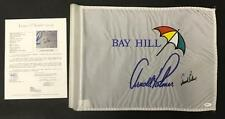 Arnold Palmer Signed Autographed Bay Hill Tournament Used Pin Flag w/ JSA COA