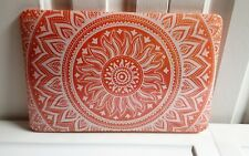 """iCasso Macbook Air 11"""" Hard Shell Protective Case Orange Medallion (NEW)"""