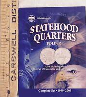 STATEHOOD QUARTERS FOLDER INCLUDES: D.C. & U.S. TERRITORIES - WHITMAN BRAND NEW
