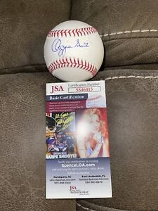 OZZIE SMITH SIGNED BASEBALL ST LOUIS CARDINALS JSA HALL OF FAME ALL STAR