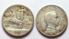 VITTORIO EMANUELE III 1901-1945 -AG/ 2 LIRE 1910
