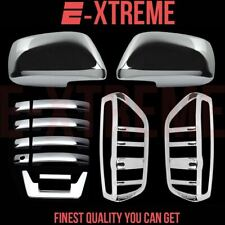 Mirror 2Pc Chrome Cover For Nissan Frontier 2005-14 4 Door Handle W//Smrtkh