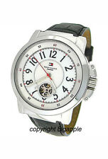 TOMMY HILFIGER AUTOMATIC 50 M LEATHER BAND LADIES WATCH 1780818