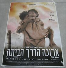 "RABBIT PROOF FENCE Original ISRAEL Movie Poster 2002 27""X38"" EVERLYN SAMPI"