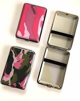 CAMOUFLAGE ARMY PATTERN DESIGN KING SIZE Cigarette Case 2 Designs  IDEAL GIFT