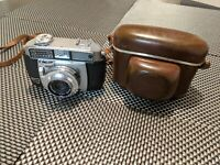 "Vintage Balda Baldessa ""Ib"" 35mm Rangefinder Camera 45/2.8 lens / Case Retro"