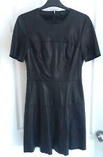 Black Leather Look Dress by Zara - M - Size 10