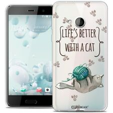 Coque Crystal Gel Pour HTC U Play Extra Fine Souple Quote Life's Better With a C