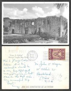 1955 Dominican Republic Real Photo Postcard - Casa de Colon, Trujillo