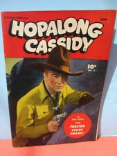1947 HOPALONG CASSIDY Comic #8 Fawcett FILE COPY photo cover William Boyd