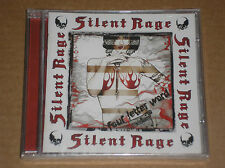 SILENT RAGE - FOUR LETTER WORD - CD SIGILLATO (SEALED)