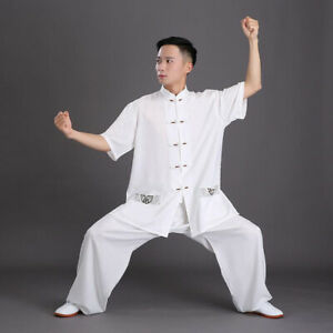 Kung Fu Tai Chi Uniform Martial Arts Wingchun Suit Chinese Traditional Tang Suit
