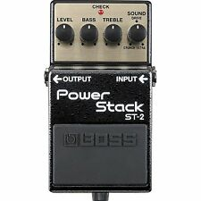 BOSS ST-2 Power Stack Overdrive/Distortion Guitar Effects Pedal +Picks