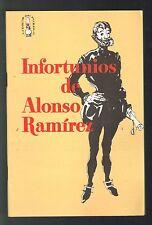 Panfleto Libros Del Pueblo Num 6 67 ICP Infortunios Alonso Ramirez Puerto Rico