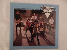 """HUEY LEWIS & THE NEWS """"Hope You Love Me"""" PICTURE SLEEVE! ONLY NEW COPY ON eBAY!"""