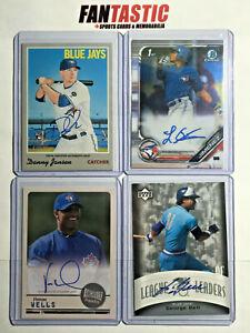 Toronto Blue Jays Autograph Card YOU PICK Topps Panini etc Auto Past & Present