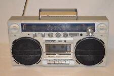 Vintage Boombox Radiorecorder SHARP GF-5757 Ghettoblaster Teildefekt /k6