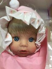 Nib Coa Susan Wakeen Little Pixie 16� Doll Coa Blonde Hair And Blue Eyes