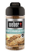 Weber Mediteranian Herb Seasoning 4.3 OZ Great on the Grill - Griddle  - Smoker