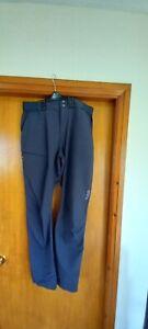 Mens Rab Matrix  Walking / Hiking trousers, Black 34w 32l lightweight , stretch