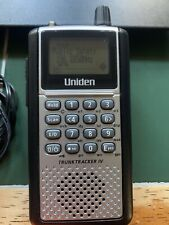 Uniden TrunkTracker IV Digital Handheld Police Scanner