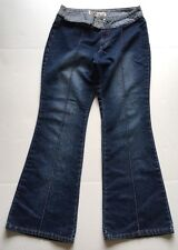 Womens Gasoline Boot Cut Denim Jeans By Ralph Natasha Size 11 / 12