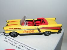 Matchbox 1:43 Coca Cola 1957 Chevrolet Bel Air Conv. DYG02/B-M  w/COA & Boxes