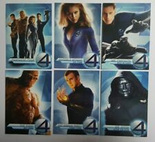 Unknown Year Marvel Fantastic Four Movie Promo Set: 6 Cards