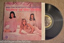 Valley Of The Dolls Motion Picture Soundtrack Sexy Sharon Tate Record Lp Vg