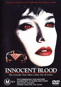 INNOCENT BLOOD DVD VAMPIRE JOHN LANDIS 1992 ANTHONY LAPAGLIA - RARE REGION 4