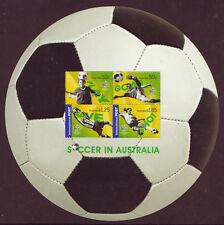 AUSTRALIA 2006 FOOTBALL SOCCER IN AUSTRALIA MS.UNMOUNTED MINT, MNH