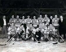Detroit Falcons 1931-32 B&W Team 8x10 photo