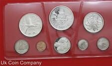 1974 Cayman Islands Silver Proof 8 Coin Set Boxed