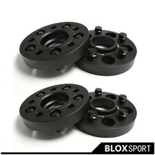 "For Mercedes-Benz S-Class W126 W140 W220 1"" Thick 4X25mm 112/5 Hub Wheel Spacers"
