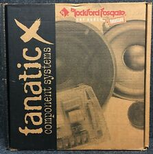 Rockford Fosgate FNX1514 FANATIC (1 PAIR 5.25 WITH GRILLS SPEAKERS ONLY)