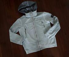 C.P company AGE 10 YRS  Boys hooded  jacket coat , light blue  ,GENUINE