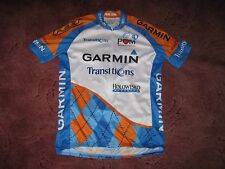 GARMIN SLIPSTREAM TRANSITIONS FELT PEARL IZUMI CYCLING JERSEY [S] BNWT