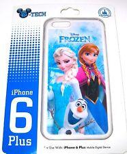 NEW Disney Parks Authentic DTech✿iPhone 6 Plus Case Frozen Elsa Anna Olaf $36.95