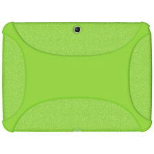 Amzer Soft Rubber Skin Fit Case Cover for Samsung Galaxy Tab 3 10.1 - Green